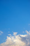 härlig sky för bakgrund Royaltyfria Bilder