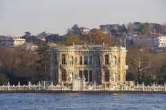 Härlig slott i Istanbul Royaltyfri Bild