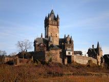Härlig slott i Tyskland Arkivfoton
