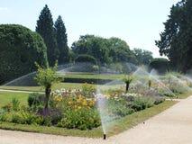 Härlig slottträdgård Royaltyfria Bilder