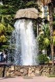 Härlig sol- springbrunn i Batumi Royaltyfria Foton