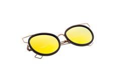 Härlig solglasögon med kulöra exponeringsglas Royaltyfria Bilder