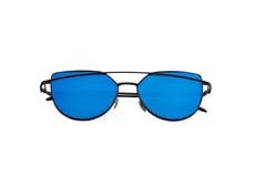 Härlig solglasögon med kulöra exponeringsglas Royaltyfri Foto