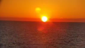 härlig solnedgång Royaltyfri Fotografi