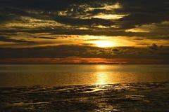 Härlig solnedgång, Florida Arkivbild