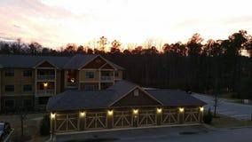 Härlig solnedgång I Royaltyfria Bilder