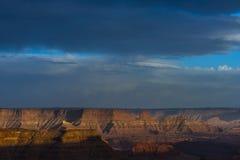 Härlig solnedgång nära den Marlboro punkten Canyonlands Utah Royaltyfri Fotografi