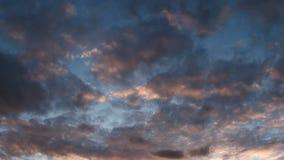 Härlig solnedgångTime-schackningsperiod stock video