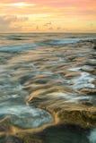 härlig soluppgång i Florida Fotografering för Bildbyråer