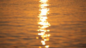 Härlig soluppgång på ön av Santorini stock video