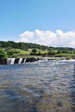 härlig sommar för bildnaturflod Royaltyfri Fotografi