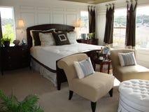 härlig sovrumförlage Royaltyfria Bilder