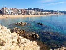 Härlig spanjorkust Royaltyfria Bilder