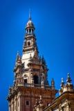 Härlig spansk arkitektur arkivfoton