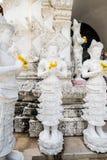 Härlig stöpningskonst i tempel för San PA Yang Luang royaltyfria bilder