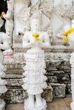 Härlig stöpningskonst i tempel för San PA Yang Luang fotografering för bildbyråer