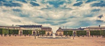 Härlig stad av Köpenhamnen Arkivfoton