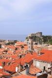Härlig stad i Dalmatia Royaltyfri Bild