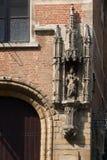 _ Härlig stad Mechelen Royaltyfria Bilder