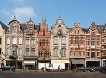 _ Härlig stad Mechelen Arkivbilder