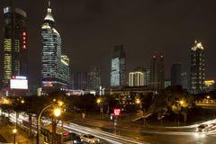 Härlig stad Shanghai Arkivfoton