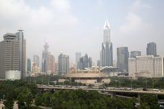 Härlig stad Shanghai Arkivfoto