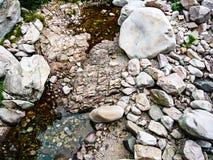Härlig stenbakgrund Arkivbilder