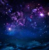 Härlig stjärnklar himmel Royaltyfri Fotografi