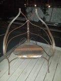 härlig stol arkivfoto