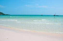 Härlig strand för Phu quoc royaltyfri bild