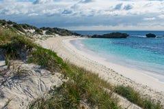 Härlig strand i Australien Fotografering för Bildbyråer