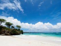Härlig strand i Boracay, Filippinerna Arkivbilder