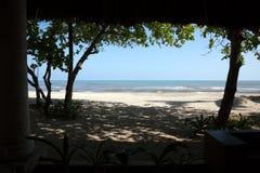 Härlig strand i Honduras Royaltyfria Foton