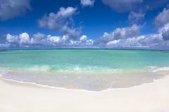 Härlig strand .maldives Royaltyfri Bild