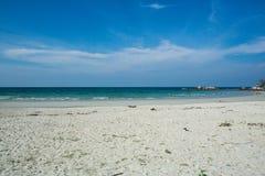 Härlig strand, Trikora, Bintan Ö-Indonesien arkivfoton