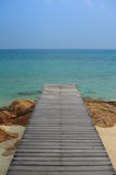 Härlig strandMunnork ö, Thailand Royaltyfri Foto