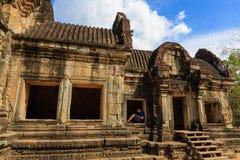 Härlig struktur av den Bapuon templet Royaltyfri Foto