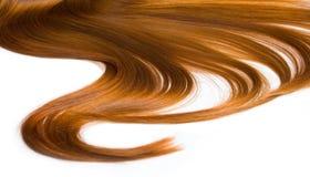 Härlig sund hårtextur arkivfoto