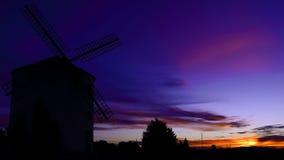 Härlig sunrise& x27; s-färger Arkivfoto