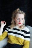 Härlig 40-talkvinna Royaltyfria Bilder