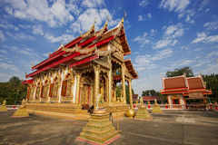 Härlig tempel i nordligt Fotografering för Bildbyråer