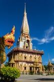 Härlig tempel i Thailand Royaltyfria Foton
