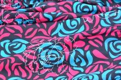 härlig textil Royaltyfria Foton