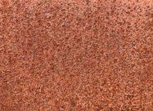 Härlig textur av det rostade järnarket, abstrakta gamla metalliska lodisar Fotografering för Bildbyråer