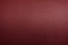 Härlig texturbakgrund för äktt läder Royaltyfri Fotografi