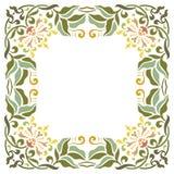 Härlig texturerad gränsram Royaltyfria Bilder