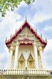 Härlig thailändsk buddistisk tempel. Wat Ka Ma La Vat bangkok, Thail Royaltyfria Bilder