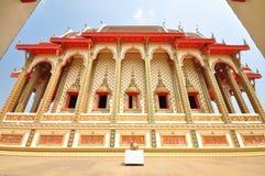 Härlig thailändsk tempel Arkivbild