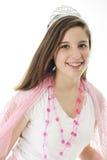 Härlig tonårig prinsessa Royaltyfri Bild