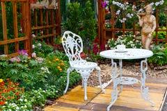 härlig trädgård Royaltyfri Fotografi
